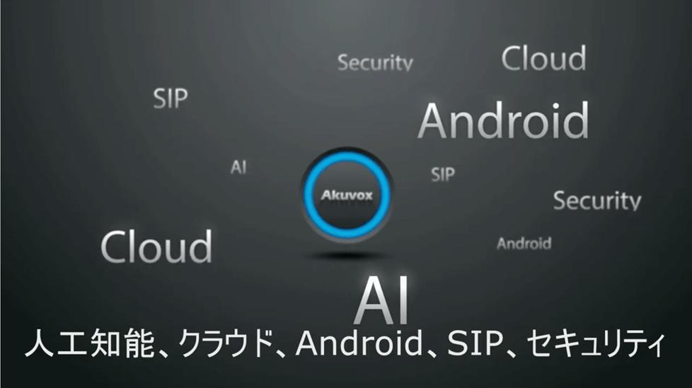 スマートインターフォンの世界Akuvox