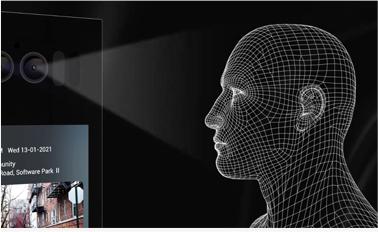 顔認証・QRなど多彩な解除認証機能