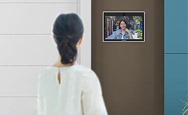 カメラ付きビデオ会話可能